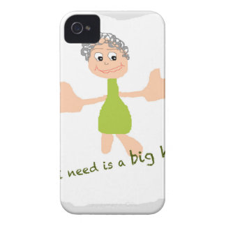 All I need is a big hug - Graphic and text Case-Mate iPhone 4 Case