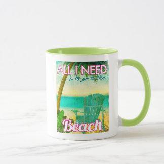 All I Need is to Go to the Beach Mug