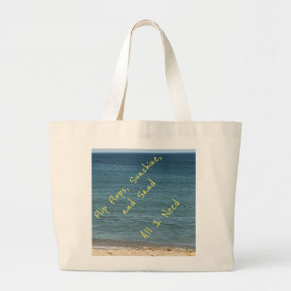 All I Need Large Tote Bag