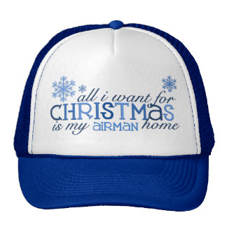 All I want for Christmas ... Airman Cap
