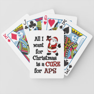 All I Want For Christmas...APS Bicycle Playing Cards