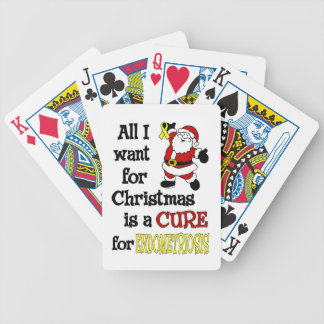 All I Want For Christmas...Endometriosis Bicycle Playing Cards