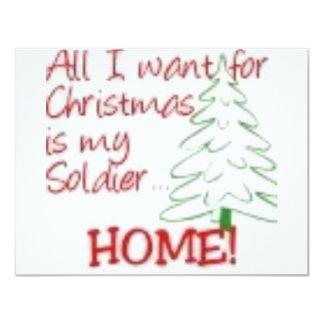 All I want for Christmas... Custom Invites