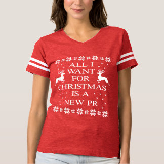 All I Want for Christmas is a New PR Football Tee
