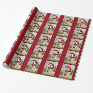 All I want for Christmas is Bijou! Wrapping Paper