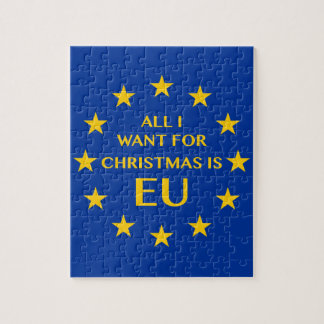 All I want for Christmas is EU Jigsaw Puzzle