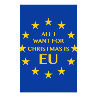 All I want for Christmas is EU Stationery