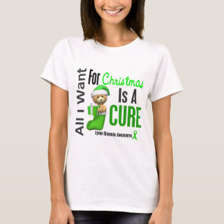 All I Want For Christmas Lyme Disease T-Shirt