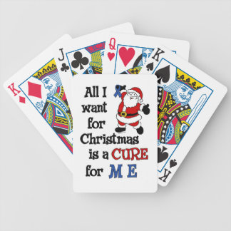 All I Want For Christmas...M E Bicycle Playing Cards