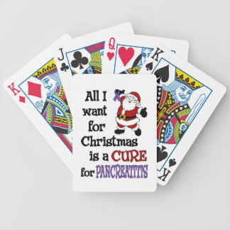 All I Want For Christmas...Pancreatitis Poker Deck