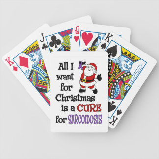 All I Want For Christmas...Sarcoidosis Poker Deck