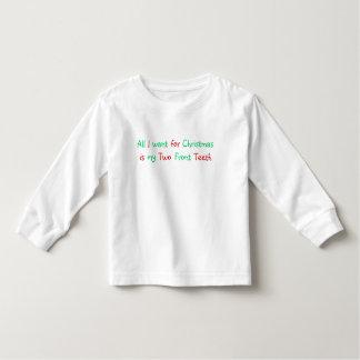 All I want for christmas shirt