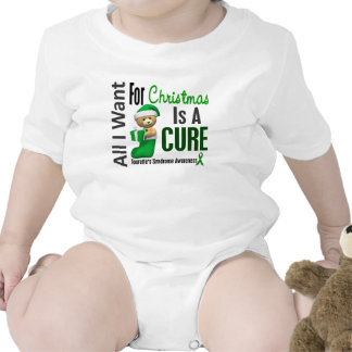 All I Want For Christmas Tourette s Syndrome Baby Bodysuit