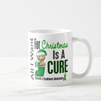 All I Want For Christmas Tourette's Syndrome Basic White Mug