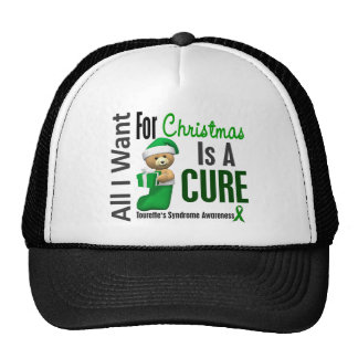 All I Want For Christmas Tourette's Syndrome Cap