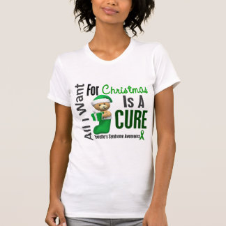 All I Want For Christmas Tourette's Syndrome T Shirt