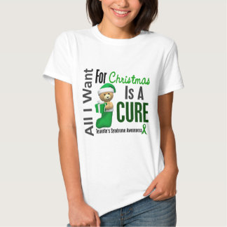 All I Want For Christmas Tourette's Syndrome T Shirts
