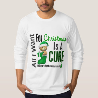 All I Want For Christmas Tourette's Syndrome Tee Shirt