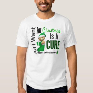 All I Want For Christmas Tourette's Syndrome Tee Shirts