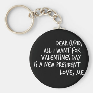 All I Want For Valentines Day Key Ring