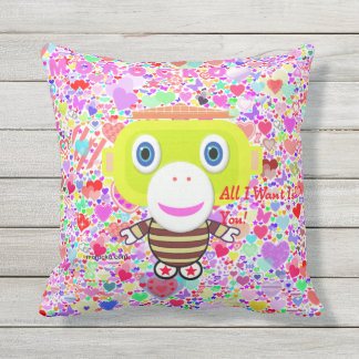 All I Want Is You Outdoor Cushion