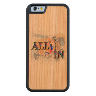 All In BasketBall Carved Cherry iPhone 6 Bumper Case