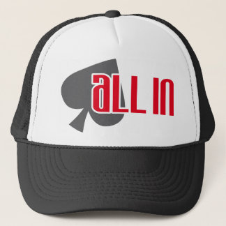 All in spades Spades Trucker Hat