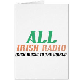 All Irish Radio Card