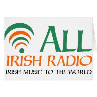 All Irish Radio New Logo Card