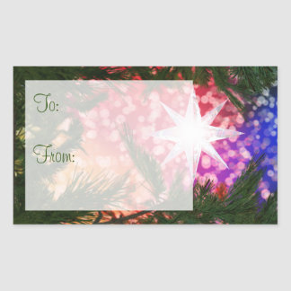 All Is Bright Gift Tag Stickers