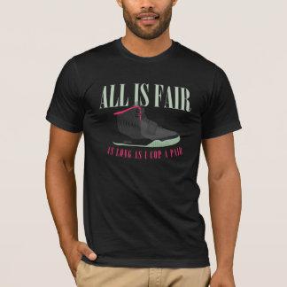 All is Fair Sneakerhead Tee
