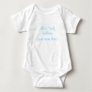 All is Well baby jersey suit Baby Bodysuit