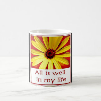All is Well in my Life Deluxe Coffee Mug