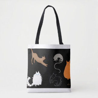 All Kinds Of Cats Tote Bag