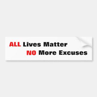 """""""All Lives Matter"""" Bumper Stickers"""