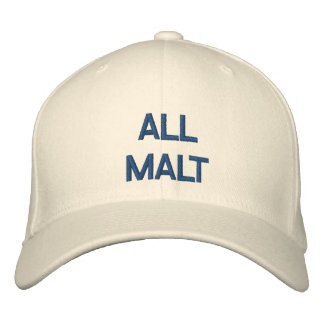 All Malt Cap Embroidered Hat