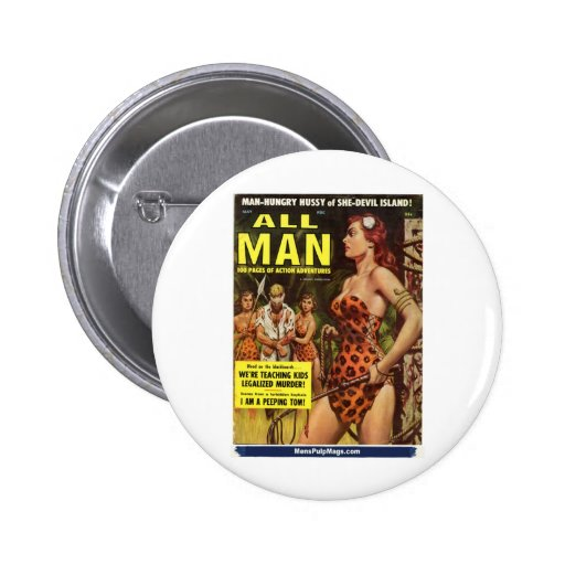 All Man, May 1959 6 Cm Round Badge