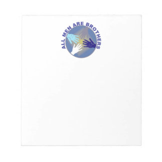 All Men Are Brothers Logo - Notepad