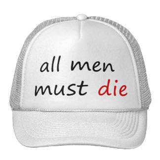ALL MEN MUST DIE CAP