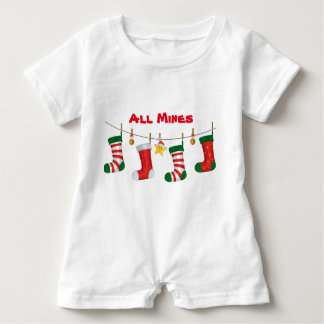 All Mines Baby Romper Baby Bodysuit