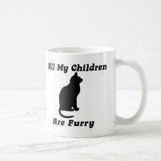 all my Children are Furry Basic White Mug