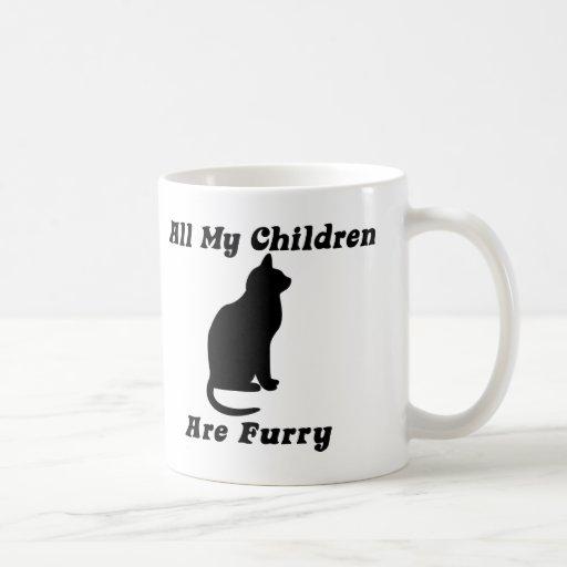 all my Children are Furry Coffee Mug