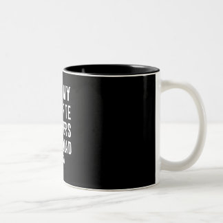 All My Favorite Rappers Are Dead RIP Two-Tone Mug