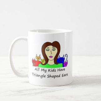 All My Kids HaveTriangle Shaped Ears Coffee Mug