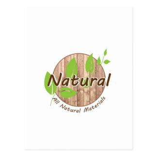 All Natural Materials Postcard