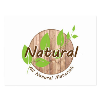 All Natural Materials Post Cards