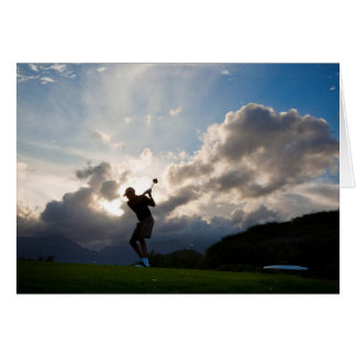 All Occasion for Men Golf Note Card