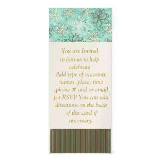 All Occasion Invitation Browns & Blues