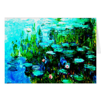 "All Occasion Monet ""Nympheas"" Note Card"