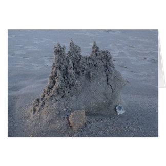 All occasion sandcastle card